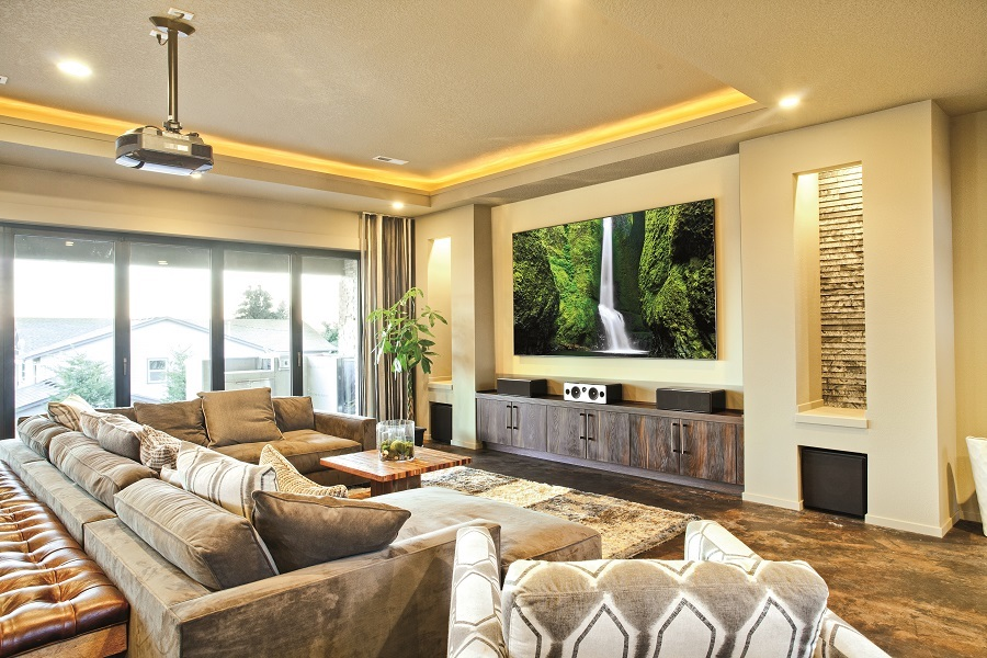 Good What Is Media Room Part - 7: Smart Home Automation: Katy, TX